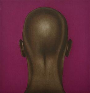 Untitled (Head with Fuchsia)