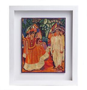 """""""El Baile de Tehuantepec de Diego Rivera"""""""