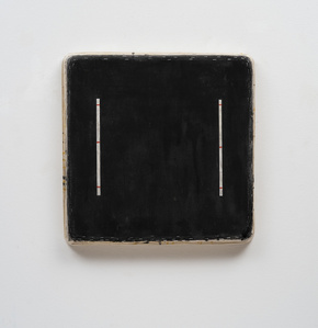 Black Square with Eight Lines