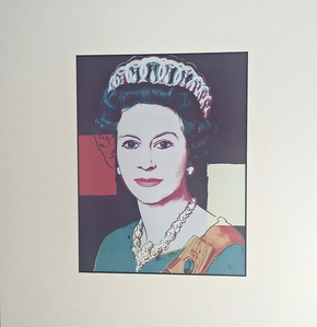 QUEEN ELIZABETH (Lt Ed Art Basel Promotional Print)