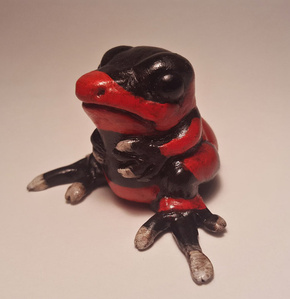 "Little Critters, Big Problems (Endangered Species Chibi) - ""Lehman's Poison Frog"