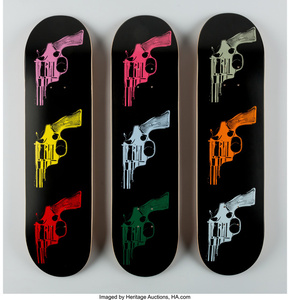 Guns, triptych