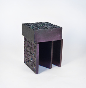 Metallic Stool 2
