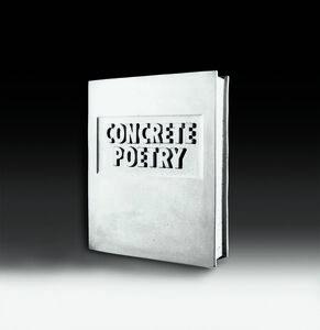 Concrete Poetry (Beton Buch)