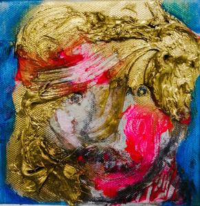 """""""Study for Rembrandt's Portrait"""""""