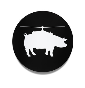 """helipig"" (black)"