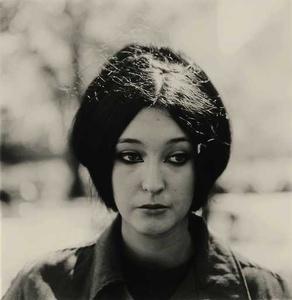 Woman with eyeliner, N.Y.C.