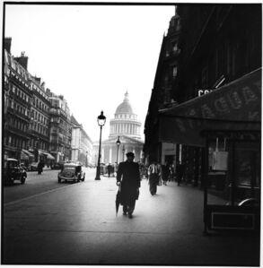 Street Scene near la Madeleine, Paris