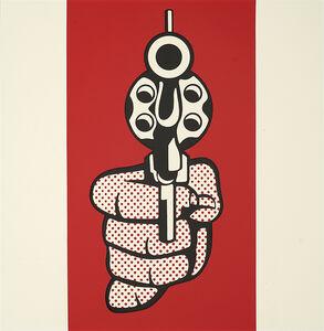 Pistol, from Banner, Multiples Calendar for 1969