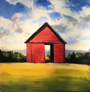 Red Summer Barn