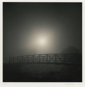 Curving Bridge, Study 1, Heather Farms, CA