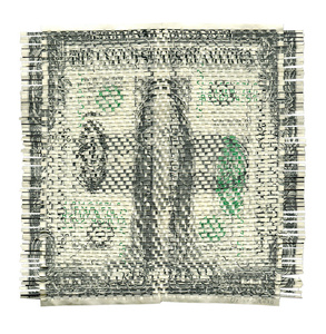 Untitled Woven Dollar (Front and Back)