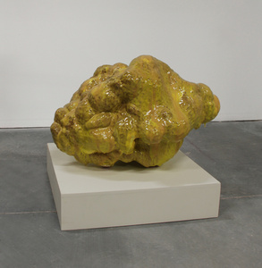 Yellow Blob Sculpture