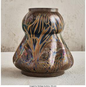 Fish and Eel Vase