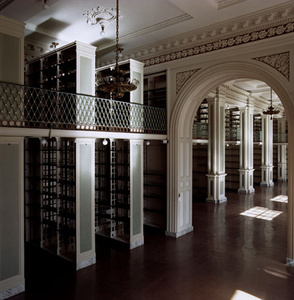 Boston Athenaeum:  Before Renovation - Second Floor/View No. 3