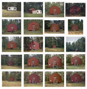 Red Building in Forest, Hale County, Alabama