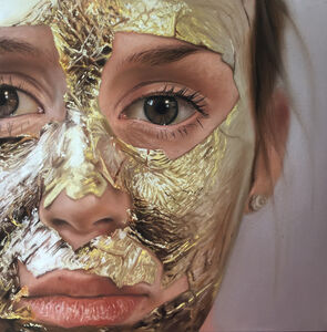 Gold Leaf Face Mask
