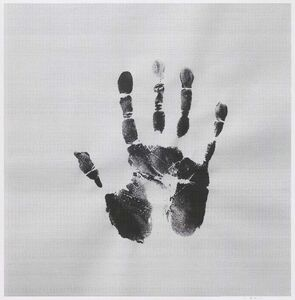 Father 1927.12.03-2010.08.27, My Father's Handprint(Right)