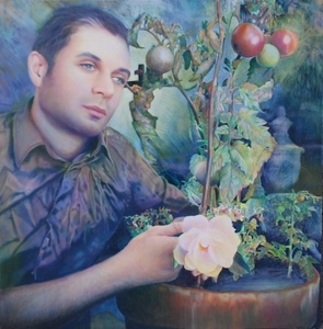 Self Portrait with Tomatoes