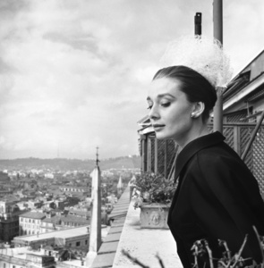 Audrey Hepburn in Rome