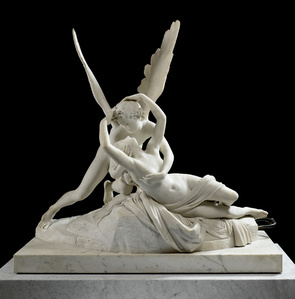 Psyché ranimée par le baiser de l'Amour (Psyche revived by Cupid's Kiss)