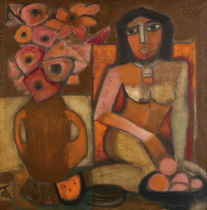 Nude with Still Life