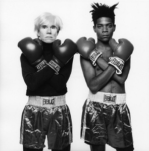 Andy Warhol and Jean-Michel Basquiat #143