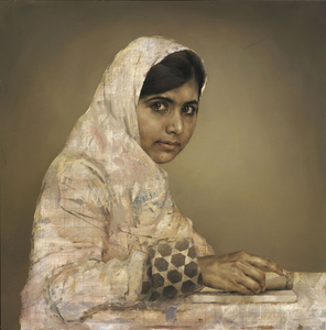Girl Reading (Malala Yousafzai)