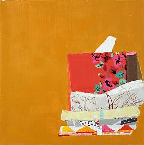 Still Life with Red Tissue Box