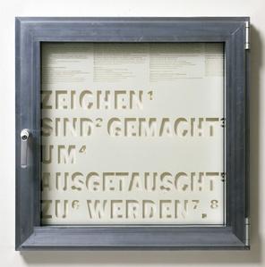 Fenster #10 Zeichen sind gemacht um ausgetauscht zu werden.,