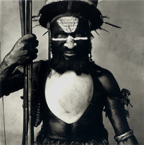 Tambul Warrior, New Guinea