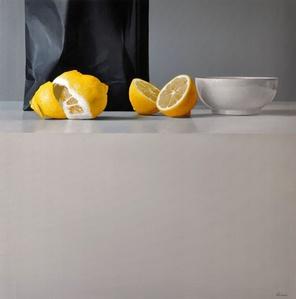 Lemons and Bowl