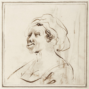 Woman with Deformed Lips