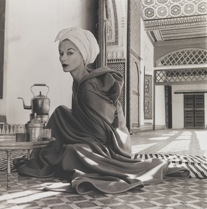 Woman in Moroccan Palace (Lisa Fonssagrives-Penn), Marrakech