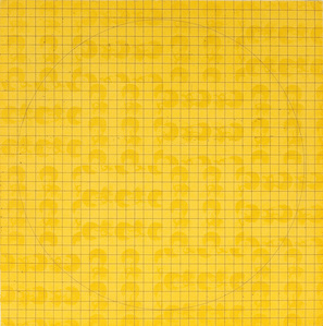 MAB: (Etching II) 1971 Yellow