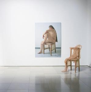 Ausstieg, 2teilige Arbeit, Fotografie &Objekt