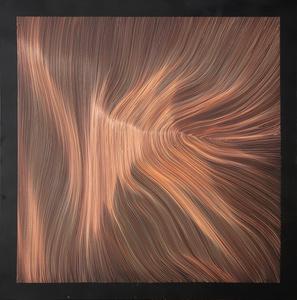 Each Line One Breath N° Black Copper 10