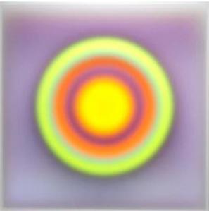 Color space – Lilac medium/ YG exploding center
