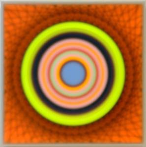 Color space – Spatial void/ Blue center
