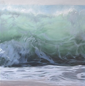 the foam of the waves, part 2 of a diptych