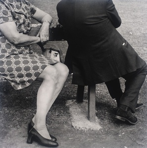 Couple on a Sunday afternoon, Zoo Lake, Johannesburg. 1975, from the series Particulars