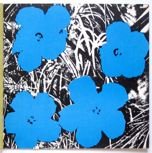 4 Blue Flowers from Ileana Sonnabend Gallery Catalog