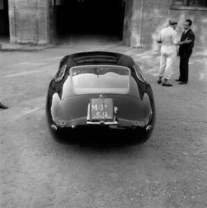 Maserati 4.5 Coupe Prototype at Modena
