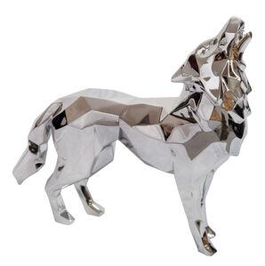 Aluminium Howling Wolf
