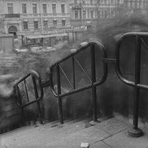 Crowd 2, Vasileostrovskaya Metro Station, St. Peterburg