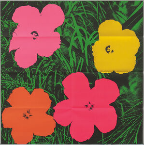 Flowers /A Mailer for Andy Warhol