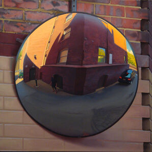 Large Alley Mirror