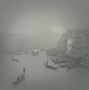 Vaporetto in Fog