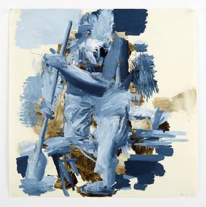 Untitled (Blue Oarsman)