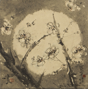 Flowering Plum Branches (MA-519)